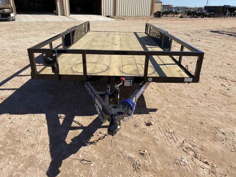2021 Load Trail UE8316 Utility Trailer 1-Brake
