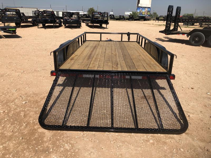 2021 Load Trail 14' Landscape Utility Trailer
