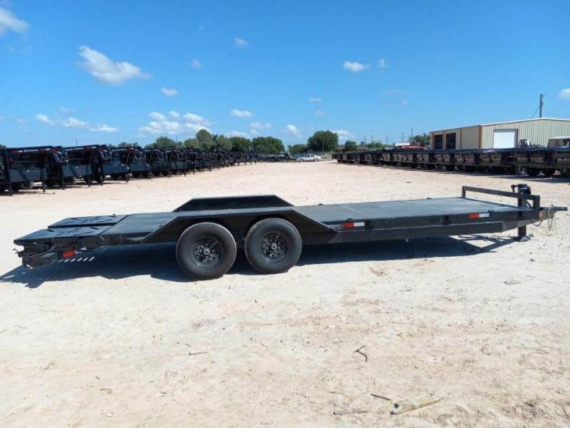 2022 Salvation 22' 14K Steel Deck Trailer W/Giant Ramps