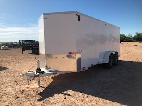 2021 Delco 6.8x18 HD Steel Cargo Trailer w/ Barn Doors