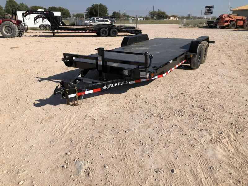 2021 Iron Bull 14K Steel Deck Carhauler Trailer