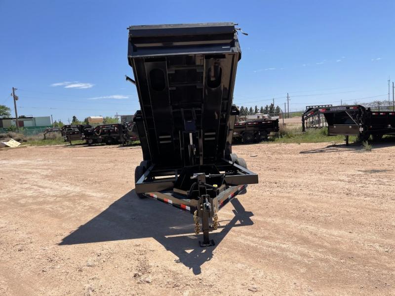 2021 Iron Bull 14' 14,000 GVW Dump Trailer