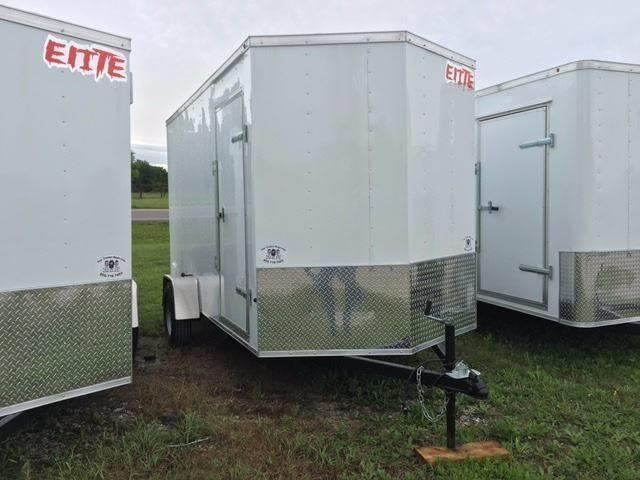 2021 Salvation Trailer 6 X 12 Enclosed Rear Ramp