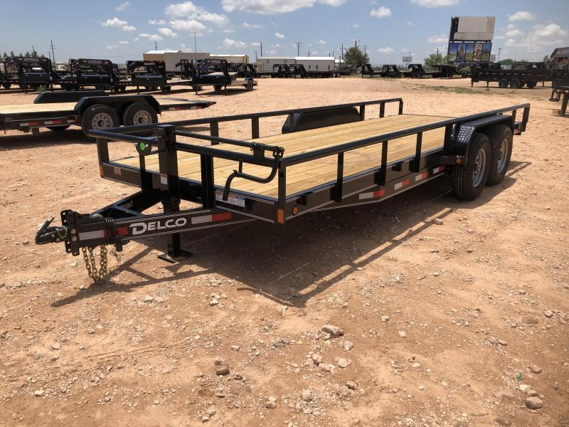 2021 Delco Trailers 20' 14K Pipe Top Trailer
