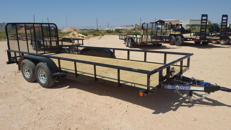 2021 Load Trail 16' Landscape Utility Trailer