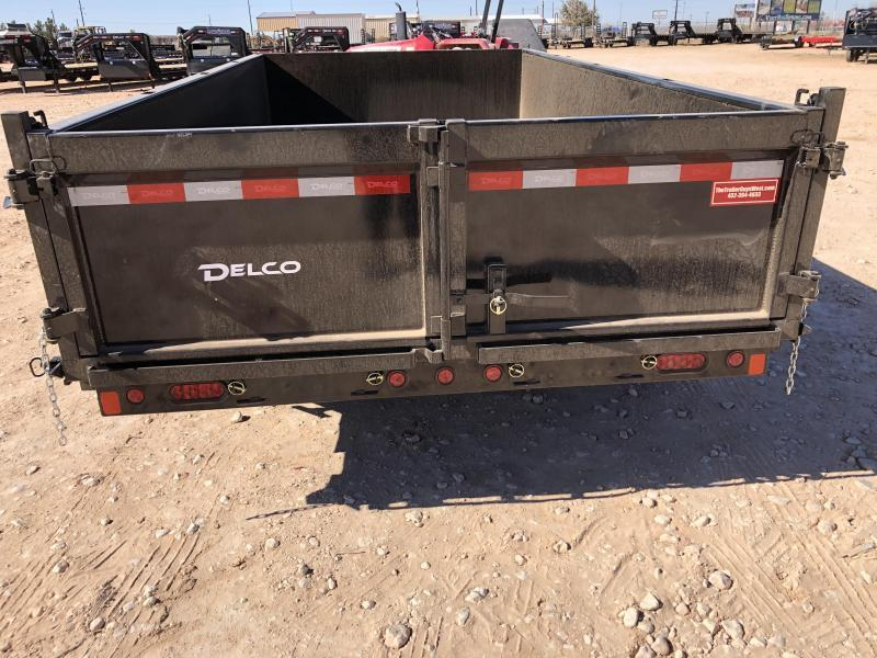 2021 Delco Trailers 14' 14k  Dump Trailer