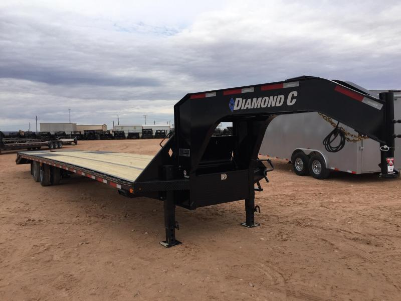 2020 Diamond C Trailers 38' Gooseneck 30K W HD Ramps
