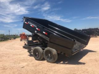 2022 Iron Bull 12' 14K Dump Trailer