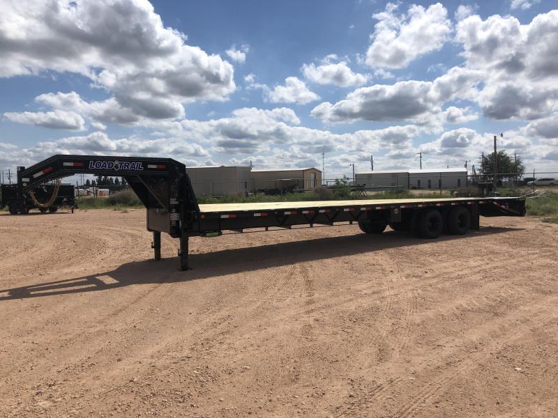2021 Load Trail 40' Gooseneck 12K Disc Max Ramps 14 PLYTrailer