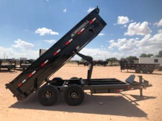 2020 Iron Bull 16' Bumper Pull Dump Trailer