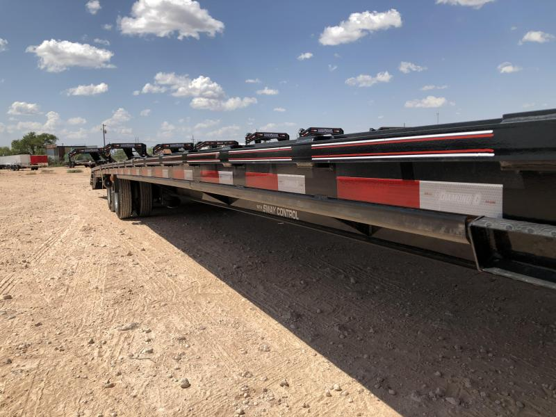 2020 Diamond C Trailers 40' Air Ride/ Lift Gooseneck 30K W HD Ramps