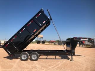 2021 Diamond C Trailers 16' 20K Gooseneck Dump Trailer