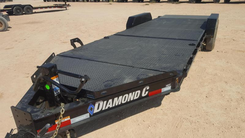 2021 Diamond C Trailers 18K 22' Steel Deck Tilt Trailer