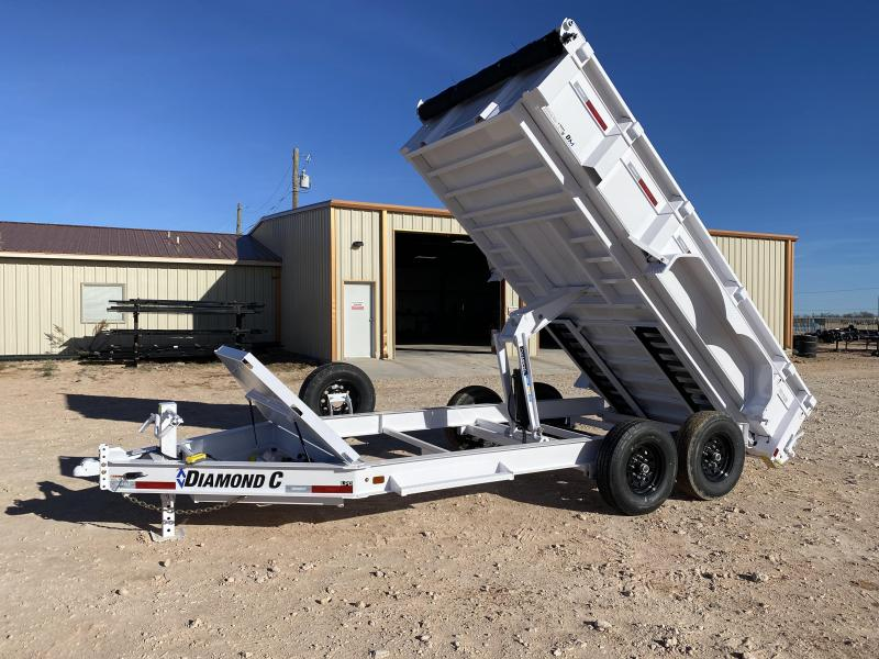 "2021 Diamond C 82"" x 14' HD Dump Trailer"