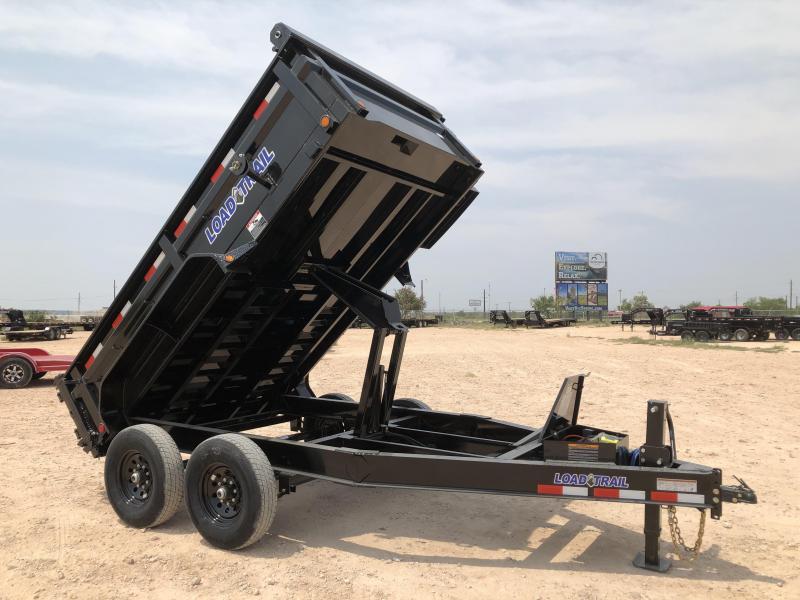 2021 Load Trail 14' 14K Bumper Pull Dump Trailer