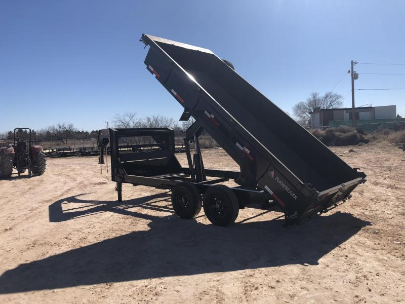 2020 RawMaxx 14' 14K Gooseneck Dump Trailer