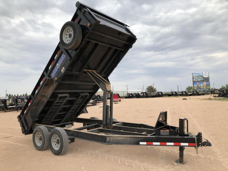 2018 Load Trail 16' 14K Bumper Pull Dump Trailer