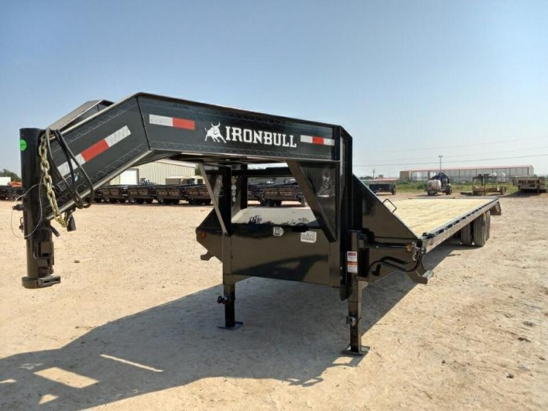 2022 Iron Bull 40' 25K Gooseneck Trailer w/Rampage Ramps