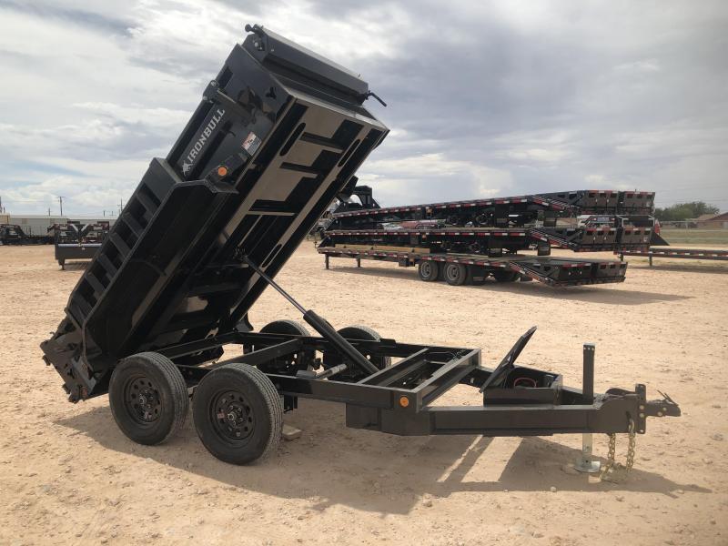 "2020 Iron Bull Trailers 60""x 10' 7K Dump Trailer"