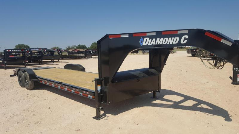 2021 Diamond C Trailer 14900 GVW 26' Gooseneck Equipment Trailer