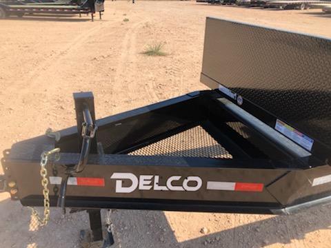 2020 DELCO 6' x 32' PIPE HAULER