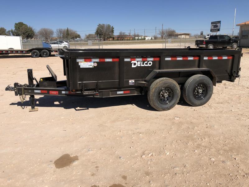 2021 Delco Trailers 12' 14k  Dump Trailer