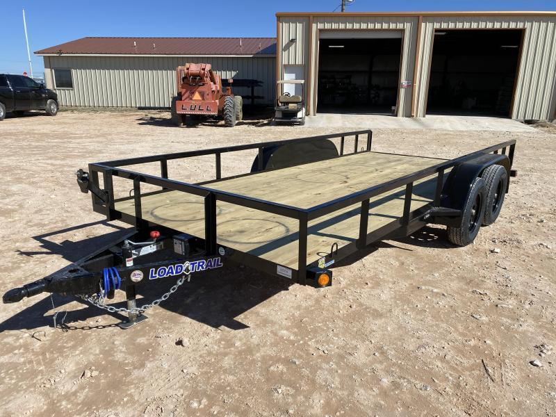 2021 Load Trail UE8316 Utility Trailer 1-Brake
