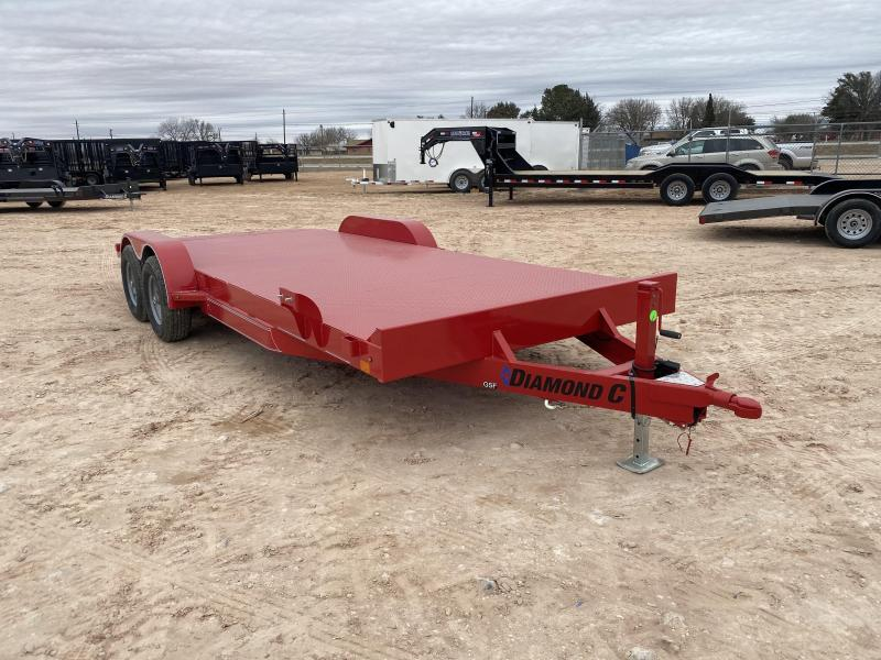 2021 Diamond C 20' 7K Steel Deck Carhauling Trailer