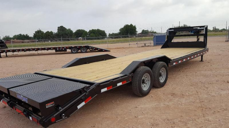 2021 Load Trail 30' 14K Gooseneck Trailer w/ MAX Ramps