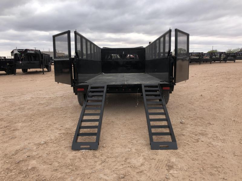 2021 Diamond 16' 20K Gooseneck Dump Trailer W/2' Extended Sides