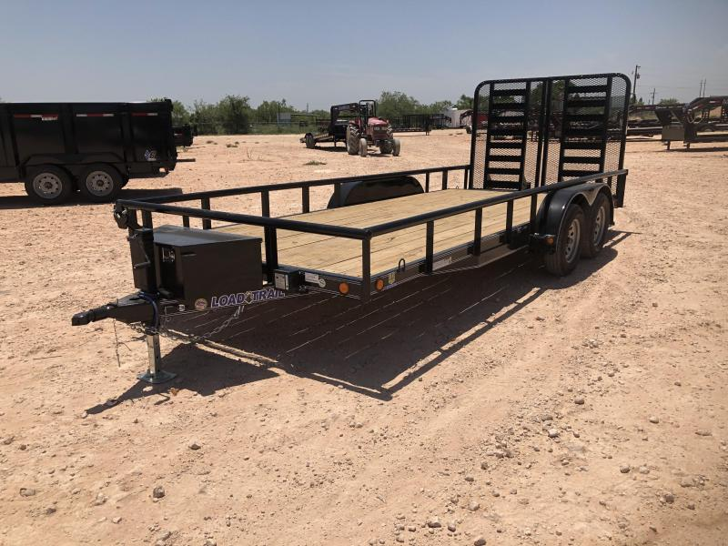 2021 Load Trail 18' 7K Landscape Utility Trailer