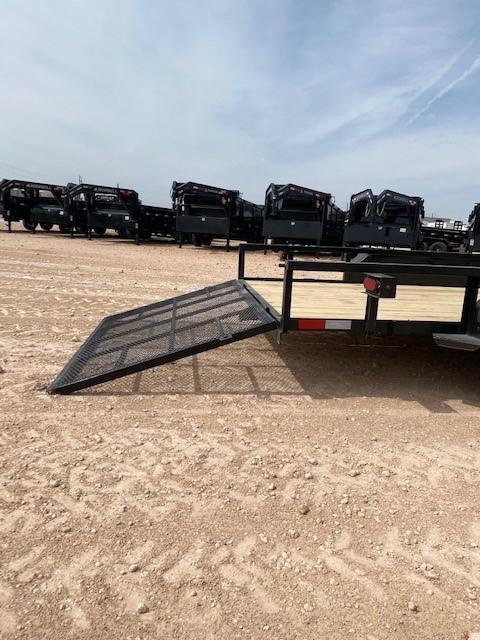 2022 Salvation 16' 1 Brake Axle Utility Trailer w/ Gate