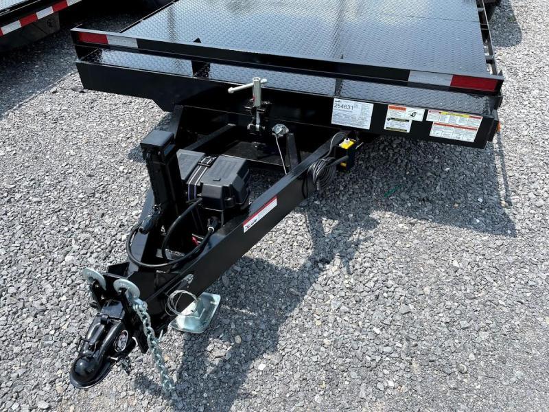 2021 Hawke Trailers 20' Power Tilt 10k Equipment Trailer