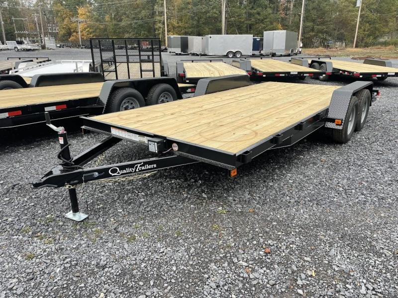 2022 Quality Trailers 18' Econ Car / Racing Trailer