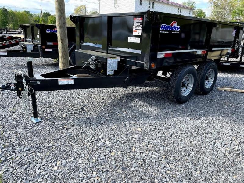 2021 Hawke Trailers 6x12 Deckover Dump Trailer