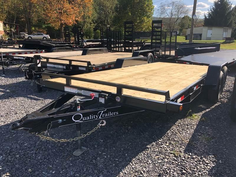 2021 Quality Wood Deck Car Hauler 18' Gen'