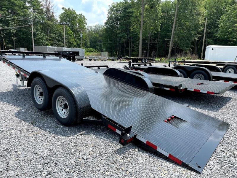 2021 Hawke Trailers 20' Power Tilt 15k Equipment Trailer