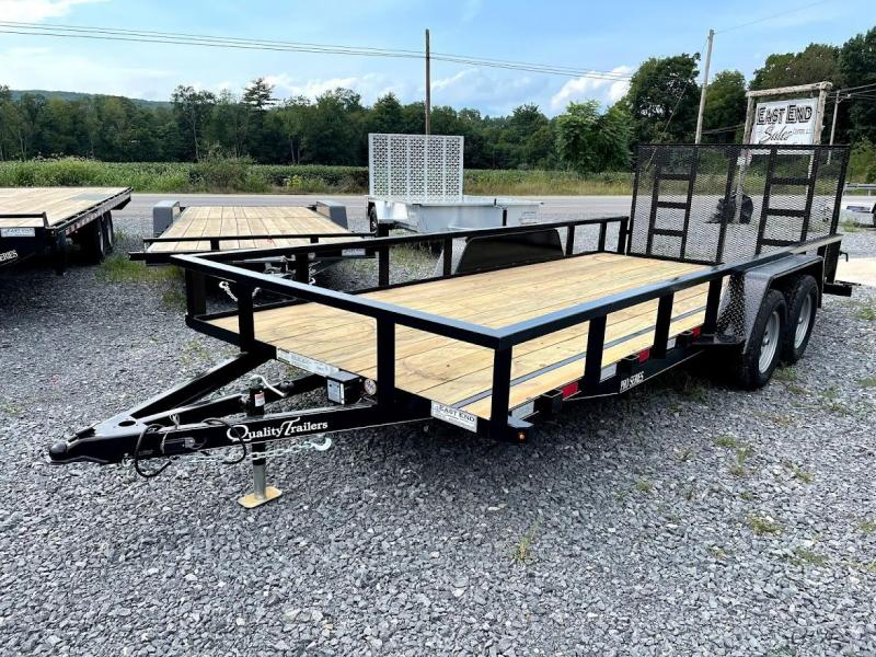 2022 Quality Trailers 18' Pro Utility Trailer