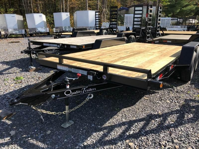2021 Quality Wood Deck Car Hauler 16' Gen