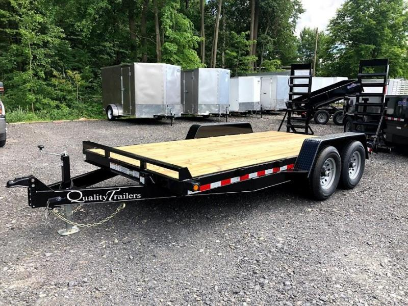 2021 Quality Trailers 16' Gen Equipment Trailer