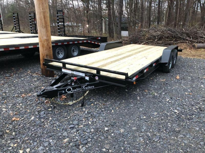 2021 Quality Trailers Wood Deck Car Hauler 20' Gen