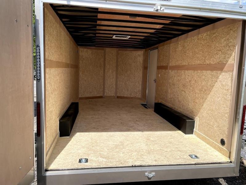 2021 Haulmark Transport 8.5x16 Contractor Enclosed Cargo Trailer
