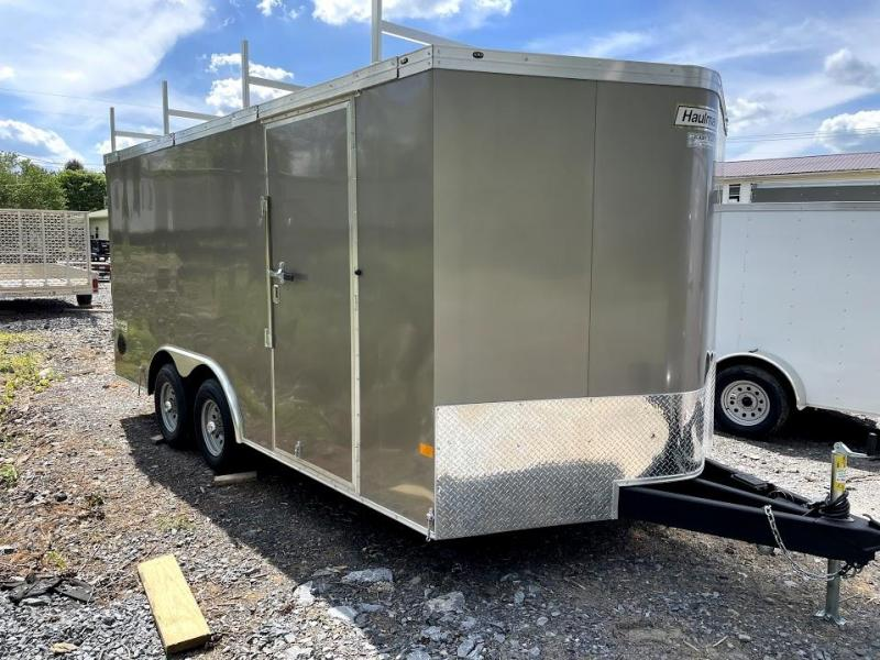 2021 Haulmark Transport 8.5x16 Contractor Enclosed Cargo Trailer