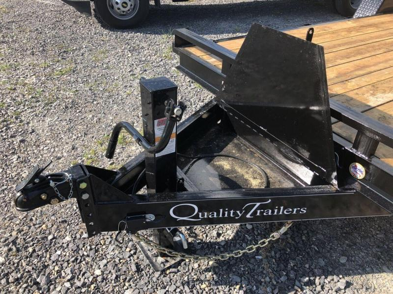 2022 Quality Trailers 20' Pro Equipment Trailer