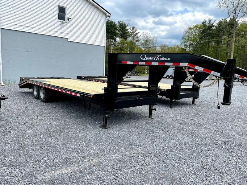2021 Quality Trailers 24' Pro Gooseneck Equipment Trailer