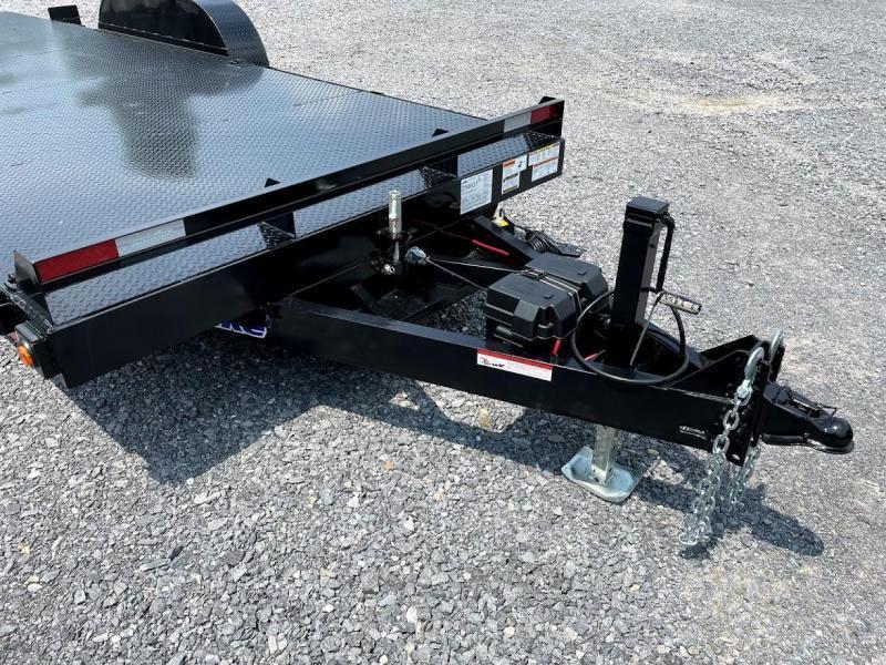 2021 Hawke Trailers 20' Power Tilt 12k Equipment Trailer