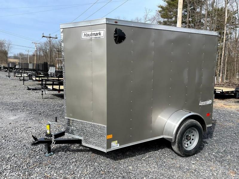 2021 Haulmark Passport Deluxe 5x8 Enclosed Cargo Trailer
