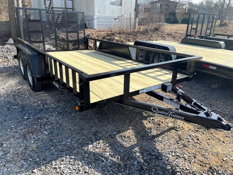 2021 Quality Trailers 14' Pro ATV Utility Trailer