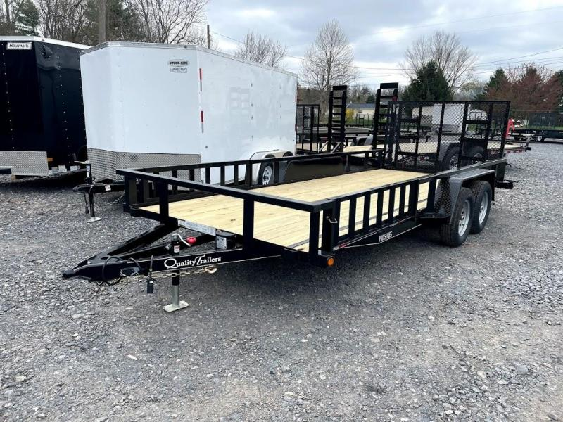2021 Quality Trailers 18' Pro ATV Utility Trailer
