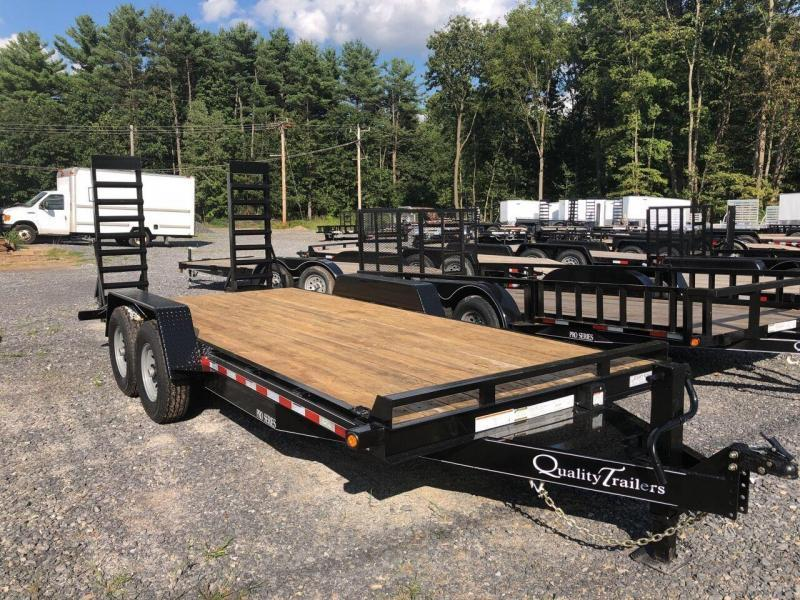 2021 Quality Trailers 18' Pro Equipment Trailer